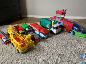 Truck Toy Bundle for Sale in New York, NY