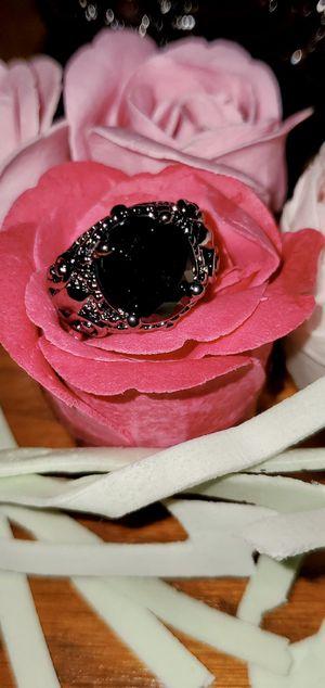 Sz 6 Black CZ Black Rhodium Ring for Sale in Ripley, WV