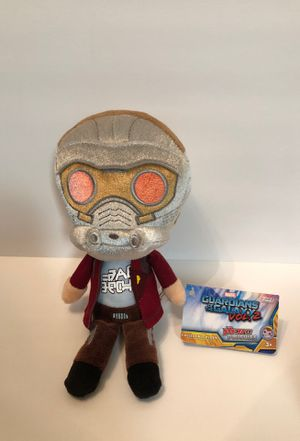 "Marvel Guardians of the Galaxy Vol. 2 Star Lord Peter Quill Collectible 6"" Plush Funko Hero Plushies New with Tags for Sale in Las Vegas, NV"