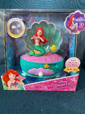 Disney little mermaid jewelry box for Sale in Westminster, CA
