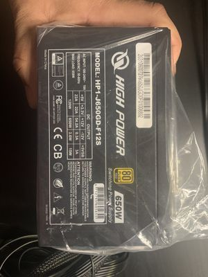 High Power 650Watts 80 Plus Gold PSU Power Supply Unit for Sale in Los Angeles, CA