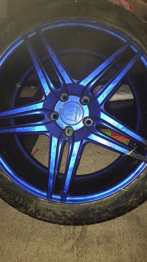 Rims and tires for Sale in Charleston, WV