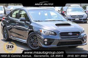 2017 Subaru WRX for Sale in Sacramento, CA