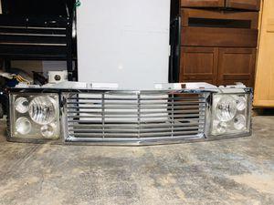 1989-1998 Silverado grill and headlights for Sale in North Las Vegas, NV