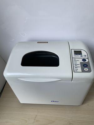Oster Bread Maker Machine Expressbake 2 lb Model 5834 White for Sale in Manassas, VA