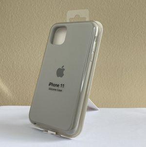 iPhone 11 Silicone Case - GRAY COLOR for Sale in Miami, FL