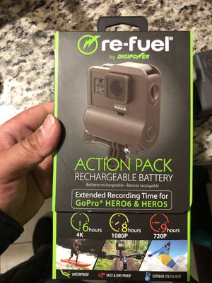 Gopro action battery pack for Sale in Las Vegas, NV