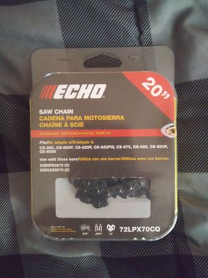 Echo Chainsaw Chain for Sale in Pearland, TX