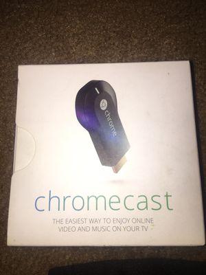 Google chrome cast. Works(READ DESCRIPTION) for Sale in Moreno Valley, CA