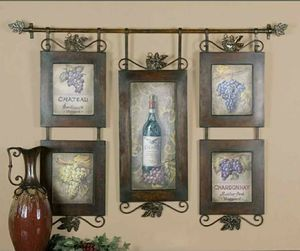 Wine wall decor for Sale in Idaho Falls, ID