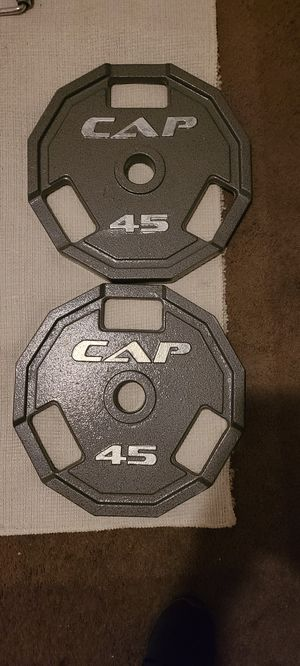Weights 2 45lbs for Sale in Oakdale, CA