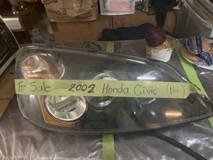 2002 Honda Civic headlights for Sale in Aspen Hill, MD