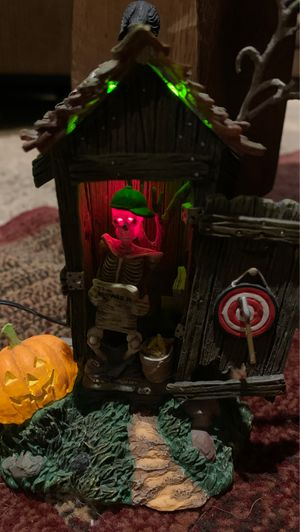 Dept56: village accessories - Haunted Outhouse for Sale in Chippewa Falls, WI
