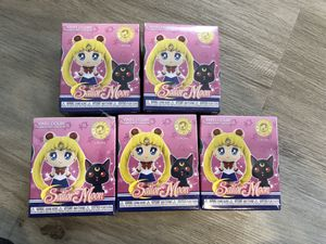 "Sailor Moon S1 2.5"" Mystery Mini/BLIND BOX Vinyl Figure (Mystery Box) Lot of 5 NEW -SPECIALTY SERIES for Sale in Las Vegas, NV"
