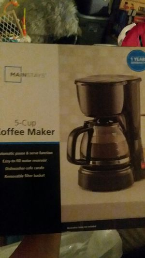 small 5 cup coffee maker for Sale in Red Lion, PA