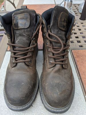 Wolverine steel toe work boots for Sale in Portland, ME