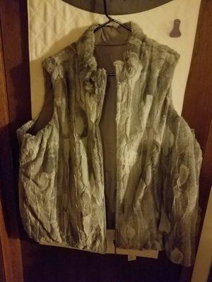 Reversible Faux Fur Coat Vest for Sale in Kenosha, WI