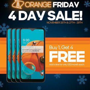 Orange Deals Start Now ! Buy One Get 4 Free ! for Sale in Garner, NC