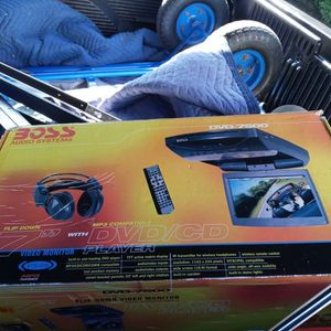 Boss audio dvd player $50 obo Pioneer Double Din Radio $200 Obo for Sale in Wetumpka, AL