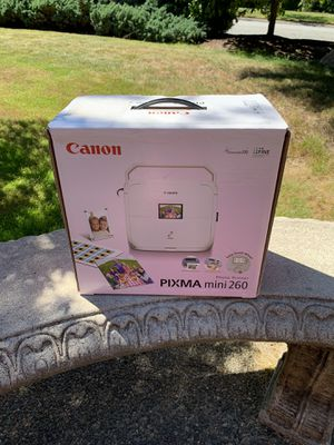 Pixma mini photo printer for Sale in Redmond, WA