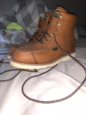 Irish setter red wing leather work boots for Sale in Bridgewater, MA