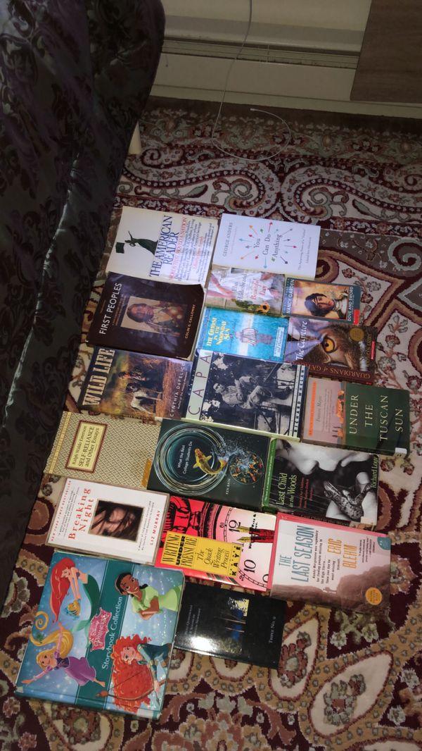 Different genre books