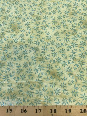 Green Leaf Flannel Cotton 1/2 yard for Sale in Corona, CA
