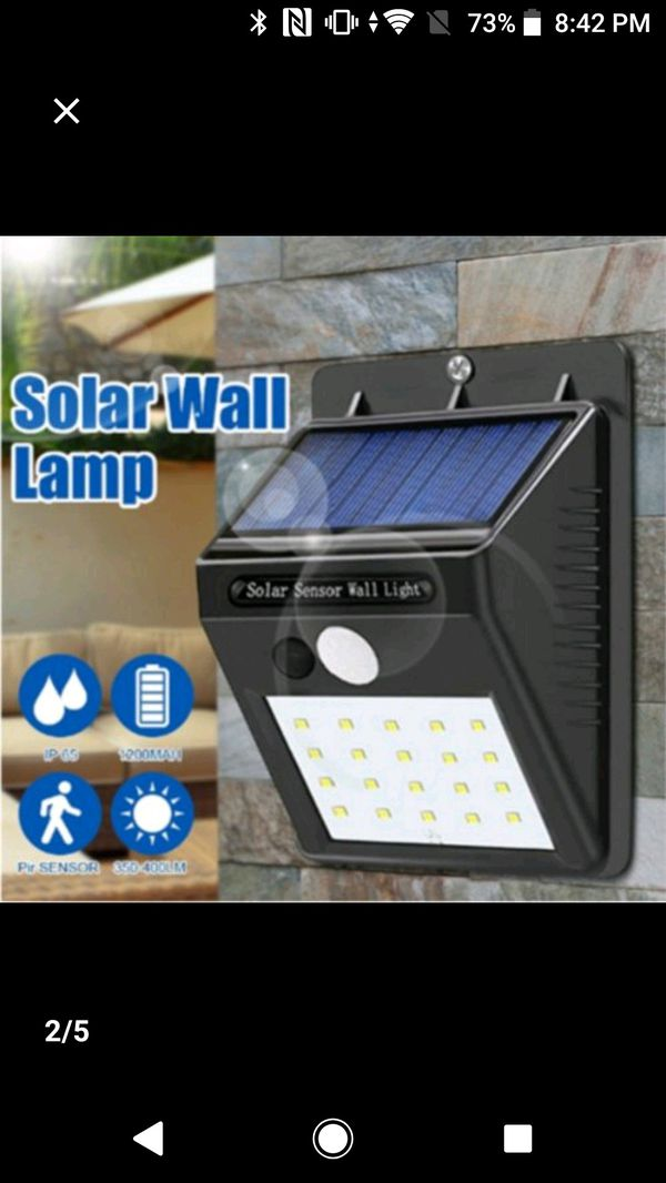 20 led solar lights (1pc)