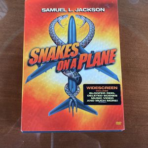 Snakes On A Plane DVD for Sale in Naperville, IL