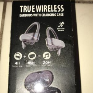 BRAND NEW! SEALED! True WIRELESS Headphones Earbuds! With/ CHARGING CASE! AMAZING SOUND! AMAZING QUALITY! ***RARE!*** for Sale in Gilbert, AZ