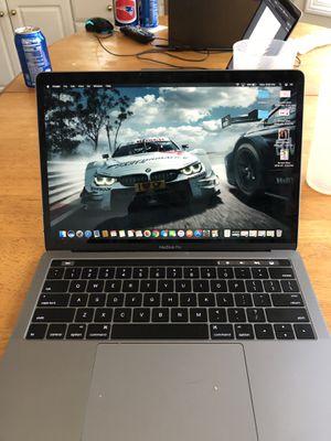 2018 MacBook Pro w Touchbar for Sale in Easton, CT