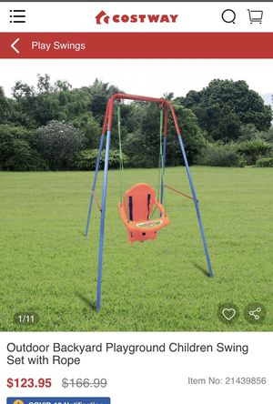 Kids swing set for Sale in Anaheim, CA