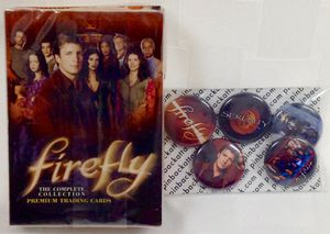 New Firefly Base Pack Complete full set 1-72 & 5 new button pins for Sale in Cypress, CA