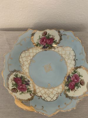 Lefton China Antique Decorative Scalloped Edged, Hand Painted Bowl 3154 for Sale in Torrance, CA