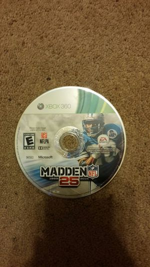 Madden 25 xbox 360 game for Sale in Pittsburgh, PA