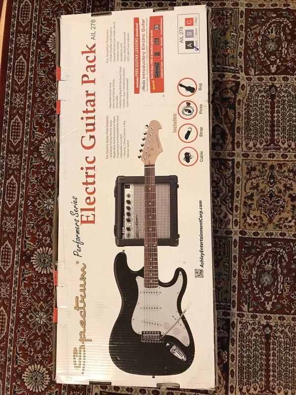 New Spectrum Electric Guitar Pack