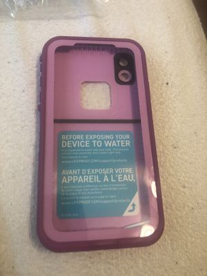 IPhone XR LifeProof case for Sale in Miami, FL