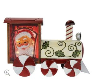 Kringle Express Illuminated Indoor/Outdoor Holiday Metal Train for Sale in Pompano Beach, FL
