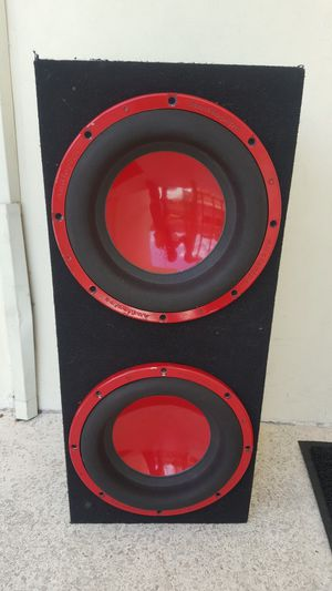 SUBWOOFER SPEAKERS BOX Audiopipe 3200WATT TOTAL for Sale in Miami, FL