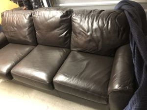 America Leather Couch for Sale in Washington, DC