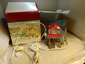 The last lobster trap Maine toy house train set Xmas holiday display collectible for Sale in Belmont, MA