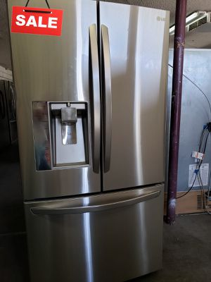 🚀🚀🚀Counter Depth Refrigerator Fridge LG Free Delivery #1418🚀🚀🚀 for Sale in Fontana, CA