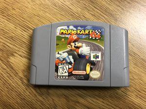 """Nintendo 64 """"Mario Kart 64"""" video game cartridge! for Sale in Adamstown, MD"""