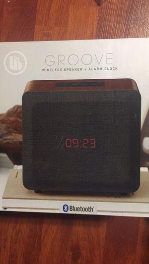 GROOVE WIRELESS SPEAKER + ALARM CLOCK for Sale in Hayward, CA