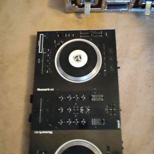 NUMARK DJ BOARD WITH CASE for Sale in Alpharetta, GA