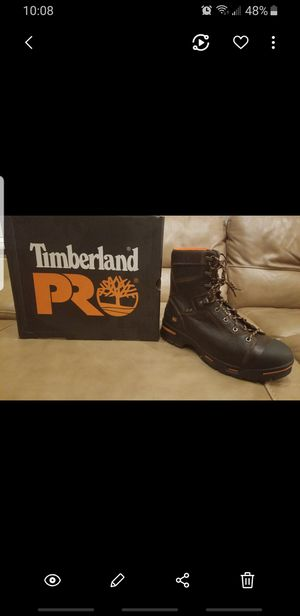 TIMBERLAND NEW, NEVER USED STEEL TOE BOOTS for Sale in Tooele, UT