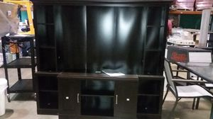 """Brand new media center sit up to a 70"""" tv for Sale in NC, US"""