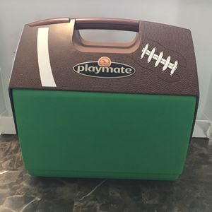 IGLOO Playmate Push Button Football Cooler Ice Chest NFL Sports Tailgate College for Sale in IL, US