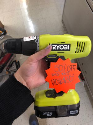 Ryobi Drill for Sale in Chicago, IL