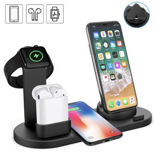 Us 6 in 1 Wireless charger dock for Apple Watch, AirPods, IPhone 11 XS for Sale in Doral, FL